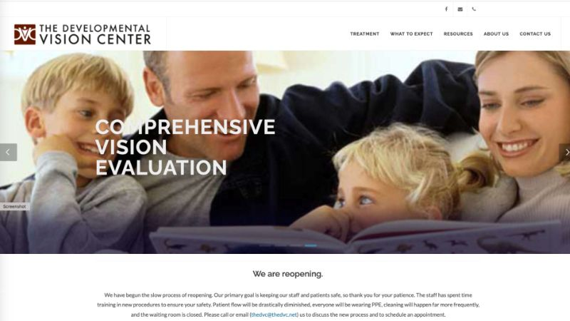 The Developmental Vision Center